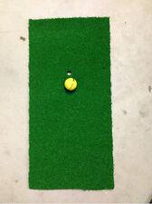 Mini GOLF DRIVING MAT Size 60cm x 30 cm Synthetic golf grass - Practice Mat $!-
