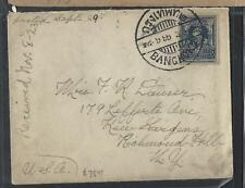 THAILAND (PP1412B)  RAMA  25 STG COVER TO USA