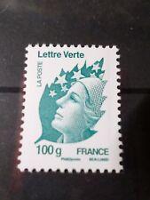 FRANCE 2011, timbre LETTRE VERTE MARIANNE 100g, neuf**