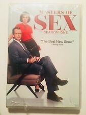 Masters of Sex: Season One 1 (DVD, 2014, 4-Disc Set)  Free S&H ~ NEW & SEALED!
