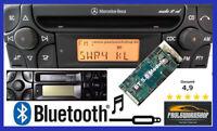Bluetooth 5.0 AUX Modernisierung Autoradio Umbau Mercedes-Benz Audio 10 CD / CC