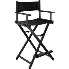 Tall Aluminum Lightweight Portable ProMakeup Artist Chair by Ver Beauty