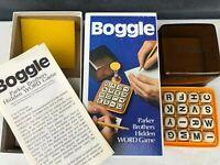 Vintage Parker Brothers BOGGLE 1970's Game - Excellent