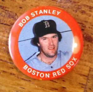Fun Foods 1984 Bob Stanley Boston Red Sox MLB Button/Pin - #81 of 133