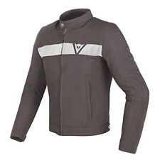 Dainese Stripes Tex Jacket Dark Brown-white 48