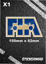 FIA Stickers Vinyl F1 Motorsport / Ferrari / Mclaren/ Williams / Lotus/ Redbull