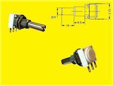 Audio Potentiometer Poti 100k 1W 20% Cermet 1 x Turn Linear Achse 6mm 1 Stück