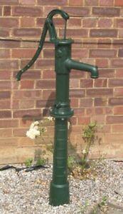 Cast Iron Village hand pump with optional base