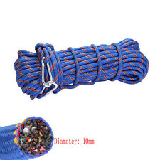 15M 300kg 3KN Safety Rock Climbing Rope, Perfessional Rappelling Auxiliary mf