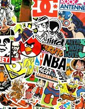 Lot of 20 Stickers for Skateboard Sticker Laptop Luggage Bike Decals mix*RANDOM*