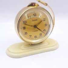 Slava Sputnik Alarm Clock Solviet Made USSR  Vintage