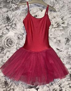 Girls Age 5-6 Years - Dancing Daisy Dance Tutu Dress - Pink