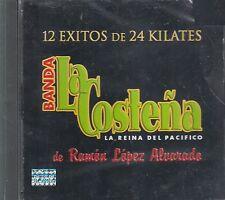 Banda La Costena 12 Exitos De 24 Kilates CD New Nuevo sealed