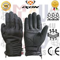 IXON Pro Roma Motorcycle Touch Screen Friendly Motorbike Biker Leather Gloves CE