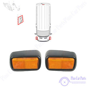 Front Bumper Left Right Fog Reflector For LWB Jumbo Ford Transit MK6 MK7