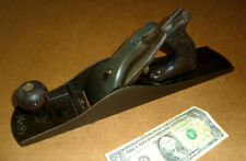 Vintage Stanley Bailey Wood Plane,No.5-1/2,Old Woodworking Tool,Short Worn Blade