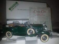 Danbury Mint 1932 Cadillac V-16 Sport Phaeton - 1:24 Scale.