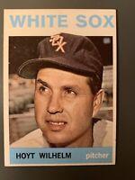 1964 Topps #13 Hoyt Wilhelm HOF Chicago White Sox