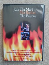 Joan the Maid - The Battles/The Prisons (DVD, 2-Disc Set) Rare OOP Free Shipping