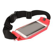 SPORT CORSA Cintura Girovita Pack con Touch Screen Window SONY Z3 compatto (ROSSO)
