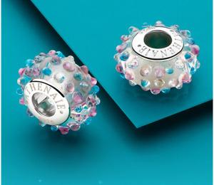 ATHENAIE Murano Glass Authentic Silver 925 european Bracelet Charm bangle bead