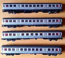 ROCO  HO 1:100  CONVOGLIO SILBERLING  -  3 x 2° classe, 1° x 1°/2° classe KKK