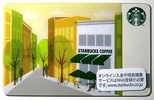 Starbucks Japan Store Terrace Card Yellow