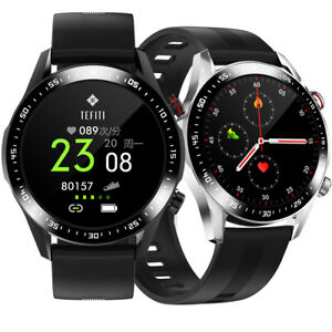 Touch Screen Smartwatch Heart Rate Monitor Wristwatch for iOS Android Phones