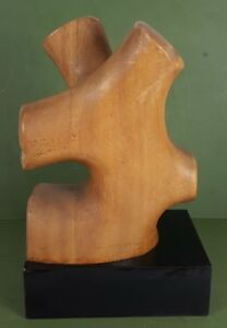 SCULPTURE. MAPLE WOOD. JOSE MARIA CODINA CORONA. CIRCA 1970.