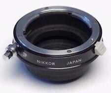 Nikon Nikkor E2 Nikon F to C Mount Adapter- arri blackmagic bolex d16 panasonic