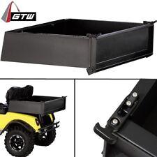 GOLF CART BLACK STEEL CARGO BOX UNIVERSAL FIT