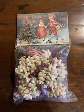 Artificial Popcorn-Cranberry Garland 9ft -Ragon House