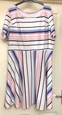 Anthology Textures Striped Dress Size 24