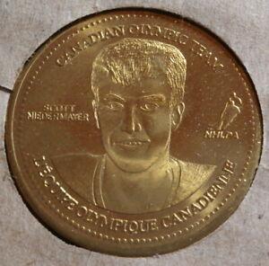 2002 Coca Cola Canadian Olympic Hockey Coins : Scott Niedermayer
