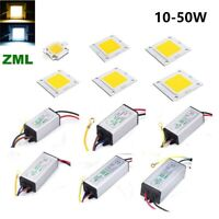Waterproof 10W 20W 30W 50W High Power LED Driver Supply / LED SMD Chip Bulb
