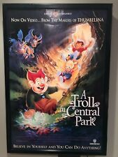 Original Vintage Movie Poster: A Troll in Central Park (1994) Approx 27 x 40