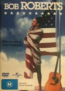 Bob Roberts DVD 1992 Tim Robbins Movie - REGION 4 AUSTRALIA
