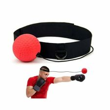 Boxer Fight Ball Head Band Reflex Speed Boxing Training Punching Workout Bag