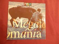 "PELE Megalomania 7"" VINYL UK M&G 1992 B/w It's A War Of Nerve (mags20) Pic"