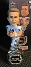 Roger Staubach Dallas Cowboys Championship Ring Bobblehead W/ Original Box!