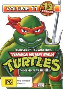 Teenage Mutant Ninja Turtles : Vol 11 DVD (PAL, 2013) Free Post