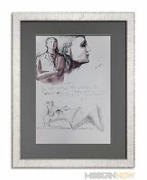 Henry MOORE Lithograph - Reclining Figure - Ed.107/150 +Cat. Ref. c41 +++FRAME