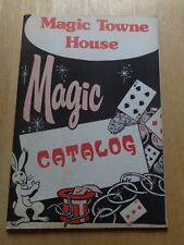 Magic Towne House Magic Catalog - Vintage - Rare - 1970's