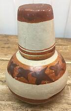 Pottery Vintage Ethnic Southwestern Tumble Up Mexico Jar Mug Chips Crude HELP