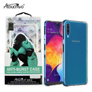 Samsung A10 A20 A30 Gorilla King Kong Corner Edge Protective Clear Strong Case