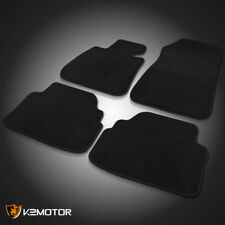 2007-2013 BMW E92 3-Series Car Floor Mats Carpet Rubber Backing Black Front+Rear