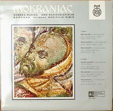 STEVAN ST. MOKRANJAC: Horska Muzika (Choral Music)-M197?LP CZECH IMPORT