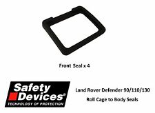 Safety Devices Land Rover Defender Roll Cage Rubber Seal Upgrade Kit - NAS Style