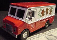 ERTL DIECAST GRUMMAN STEPVAN XMAS BANK TRUCK  VAN 1996 90S bakery ginger bread