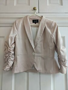 Fee G Pale Pink Jacket (Size 12)